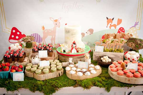 Adorable Woodland Birthday Party