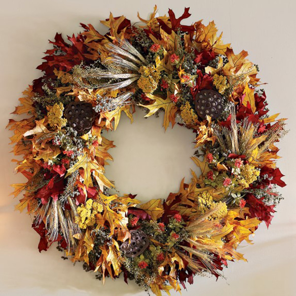 Amazing Fall Wreath!