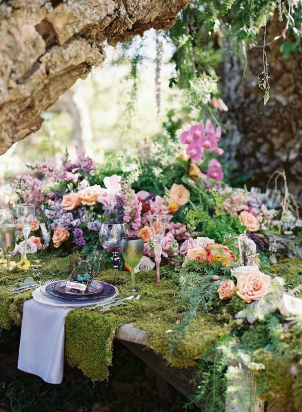 Amazing Woodland Wedding