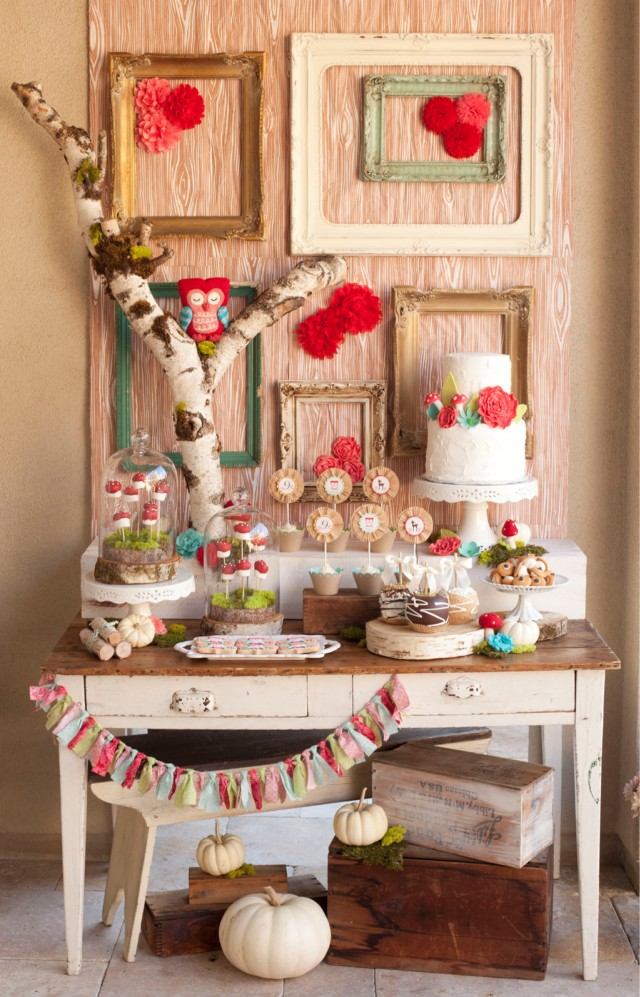 Cute Girlie woodland party!