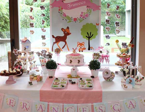Girly & Cute Woodland Party!