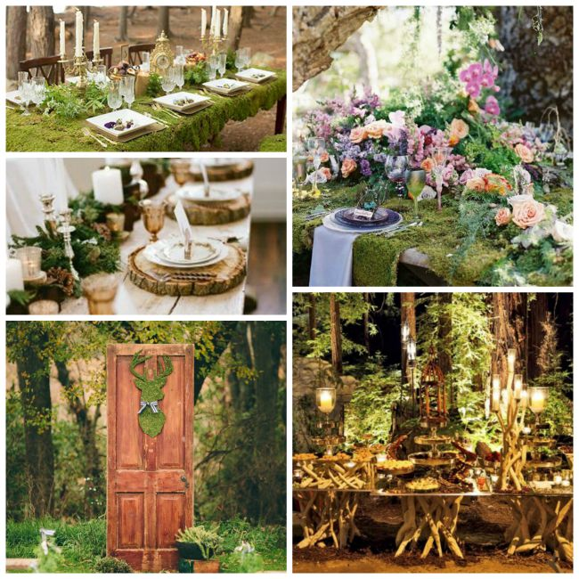 Gorgeous Woodland Wedding Inspiration!