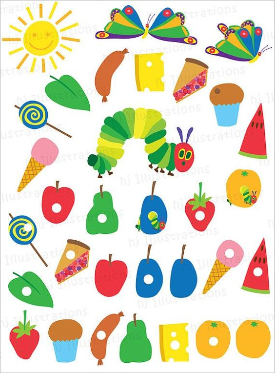 graphic relating to Caterpillar Printable titled Really Hungry Caterpillar Cost-free Printables! - B. Beautiful Functions