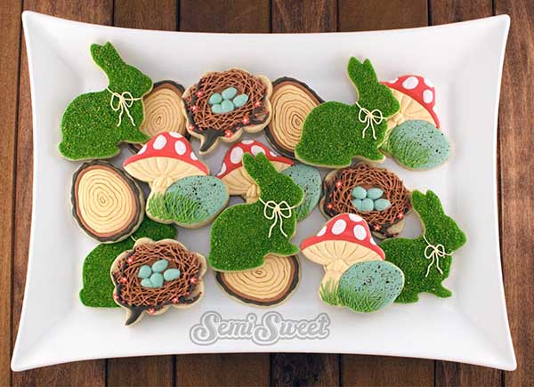 Love these cute Woodland Forest Cookies!