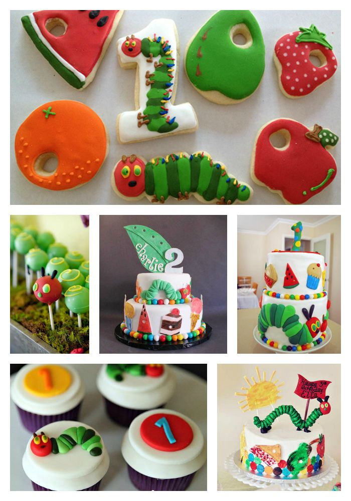 Very Hungry Caterpillar Cakes, Cookies & More! - B. Lovely Events