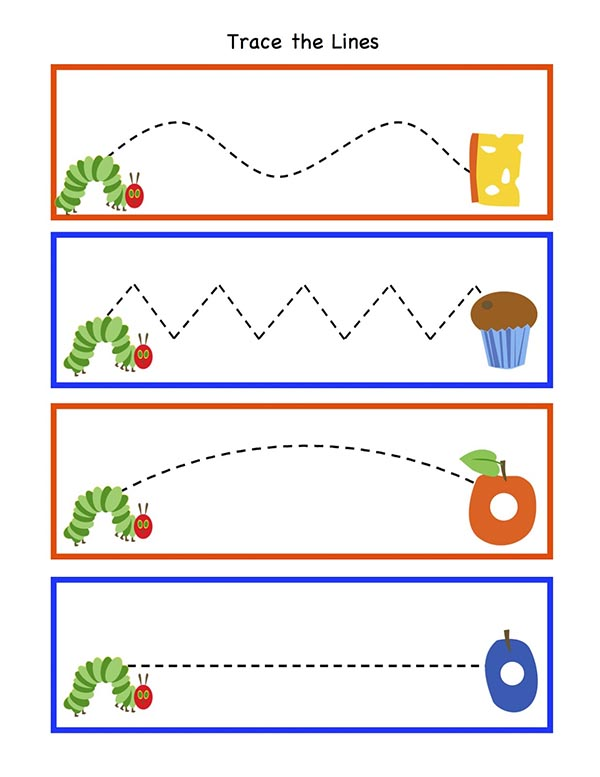 Very Hungry Caterpillar Free Printable- Cute for food labels
