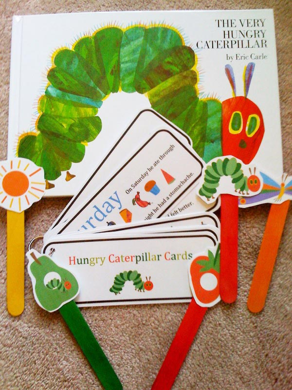 Very Hungry Caterpillar Free Printable Toppers!
