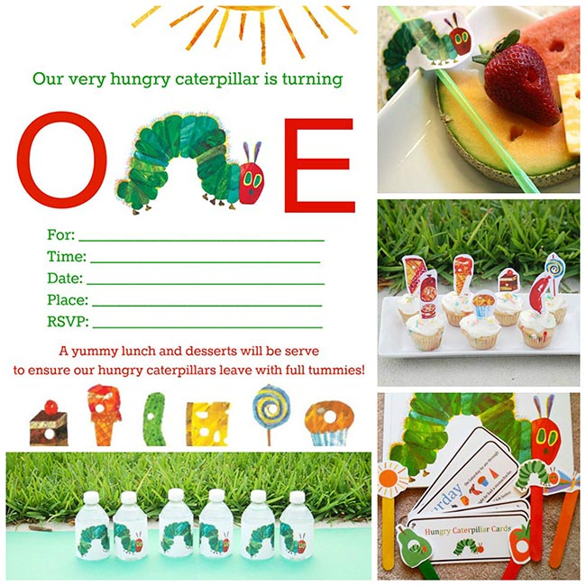 graphic about Caterpillar Printable named Incredibly Hungry Caterpillar Free of charge Printables! - B. Magnificent Gatherings