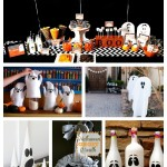 10 Fab Halloween Ghost Decorations! - B. Lovely Events