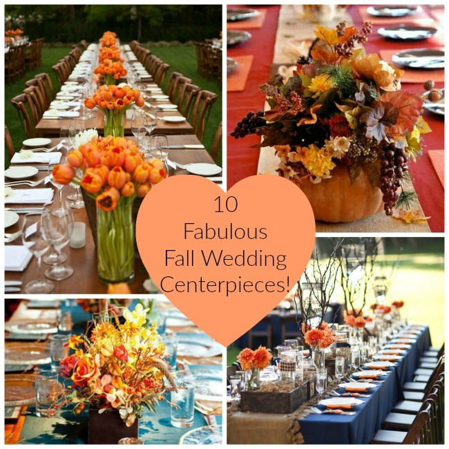 10 Fabulous Fall Centepieces