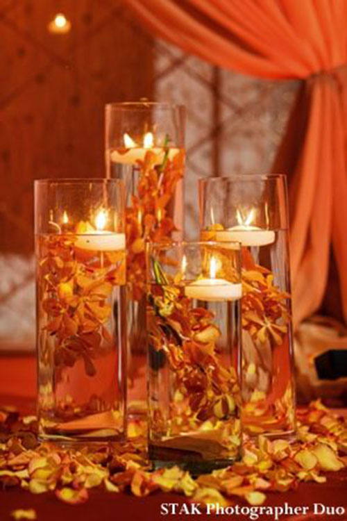 Beautiful fall wedding ideas b lovely events for Autumn wedding decoration ideas