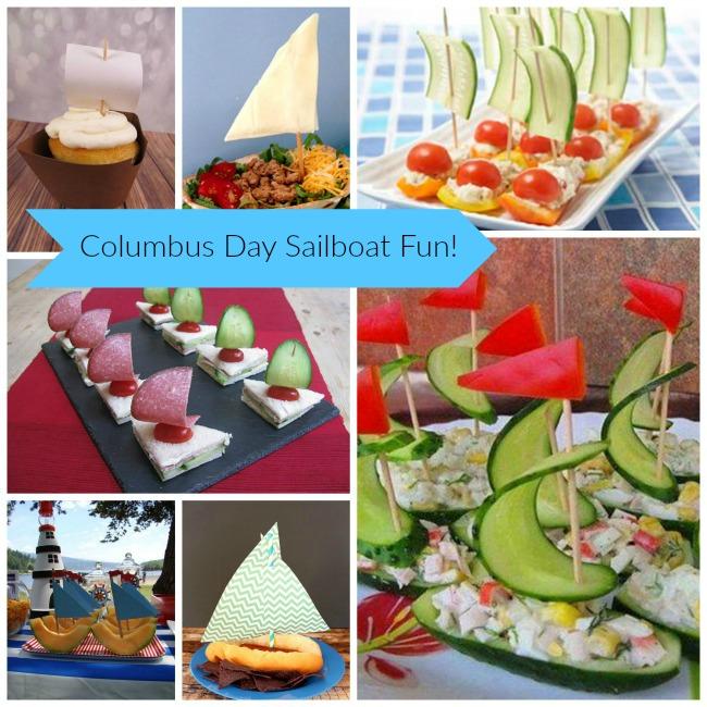 Columbus Day Sail Boat Fun!