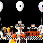 Cute Ghost Party For Halloween from A To Z celebrations!