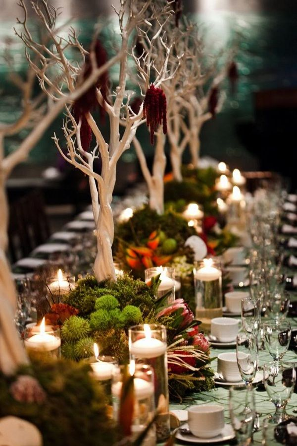 Fabulous Fall Wedding Centerpiece!