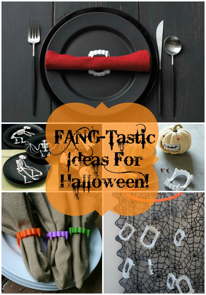 Fang-tastic Ideas For Halloween- B. Lovely Events
