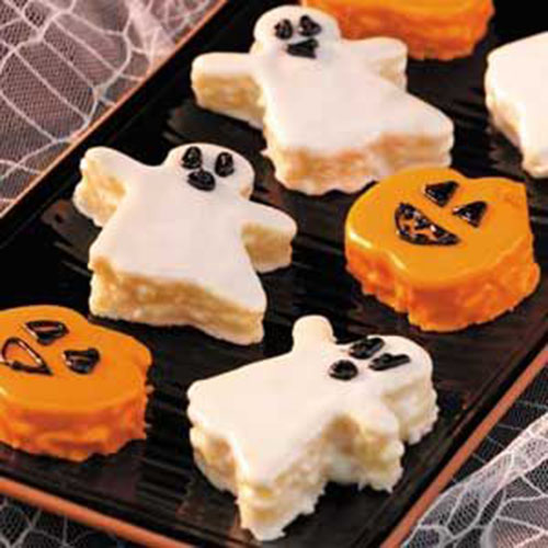 Halloween Ghost Mini Cakes