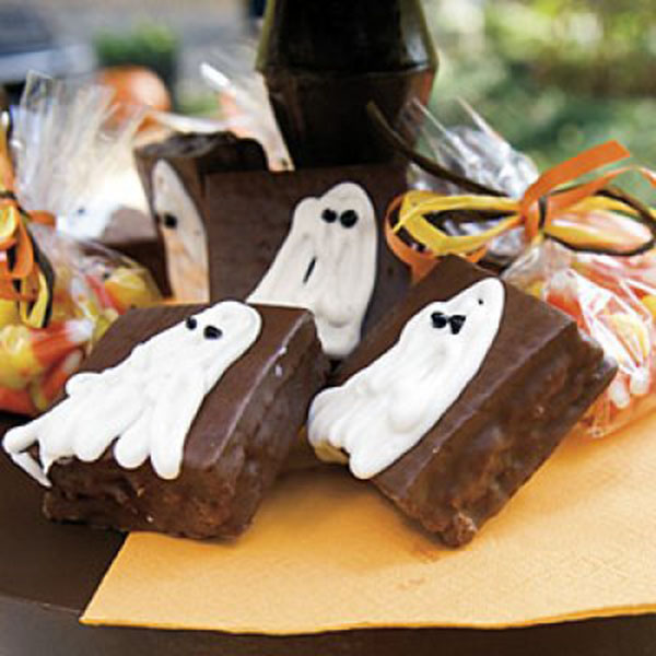 Halloween Ghost cakes!