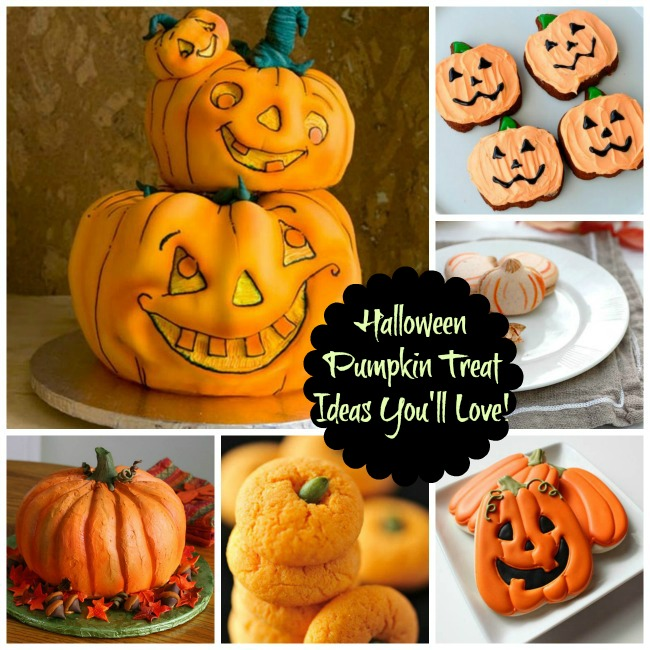 Halloween Pumpkin Treat Ideas You'll Love! - B. Lovely Events