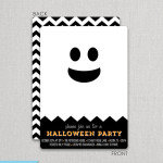 Love this fun Ghost halloween party invitation