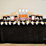 Lovely Ghost Inspired Halloween Party!