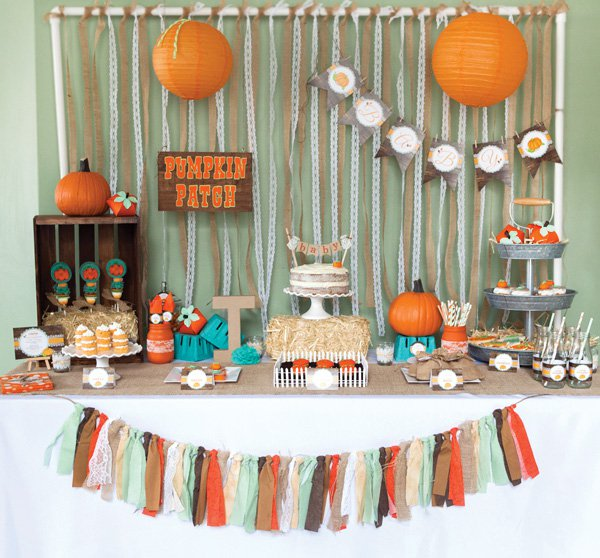 Lovely Little Pumpkin Party!