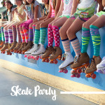 Party Style By Gemma Touchstone Skate Party