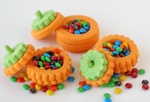 Pumpkin Pinata cookies!