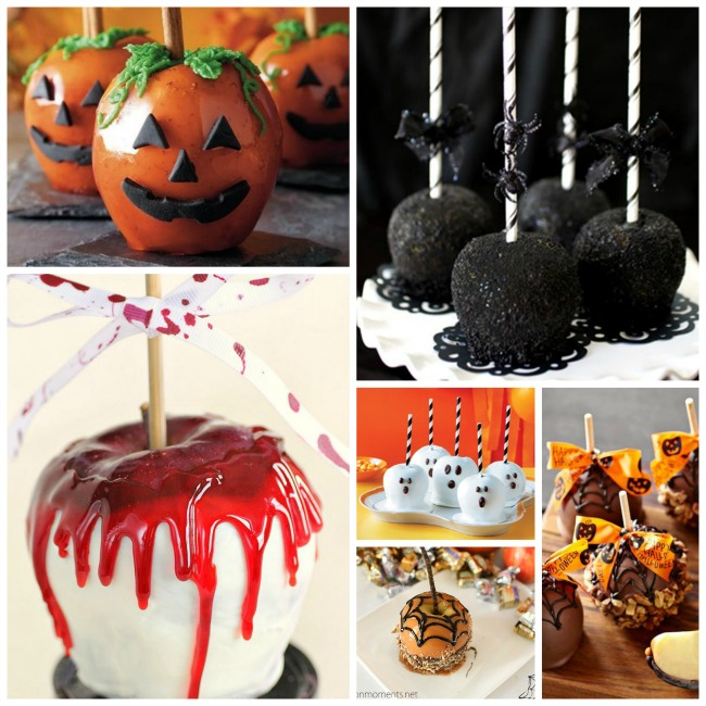 The Loveliest Halloween Caramel Apples! - B. Lovely Events