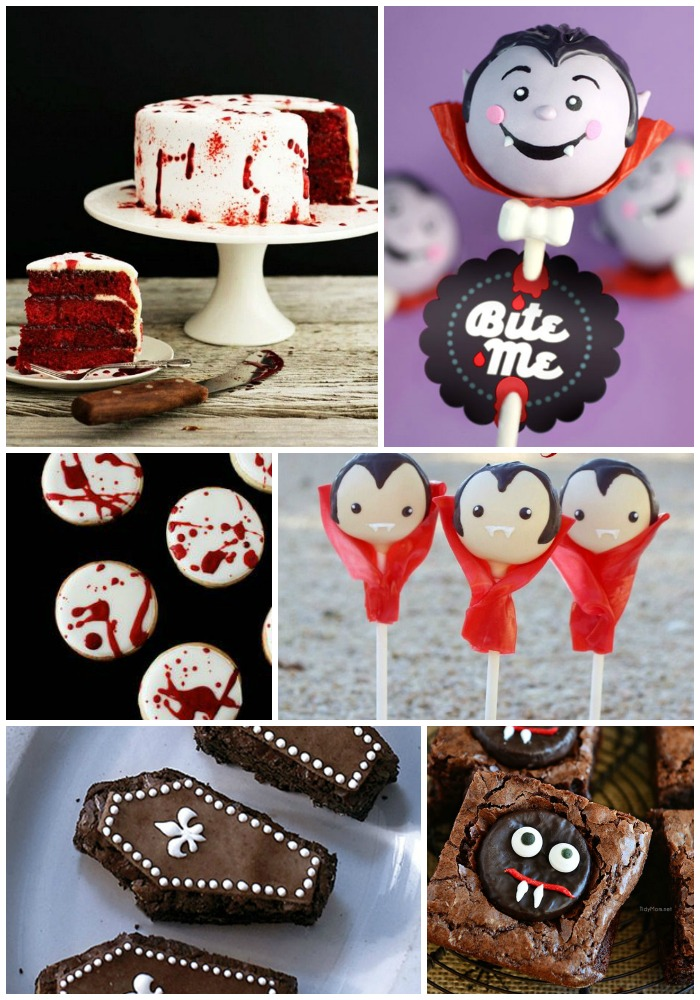 Too Cute Halloween Vampire Treats!- B. Lovely Events