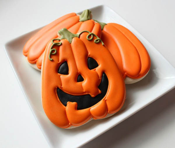 What Cute Jack O latern Cookies!