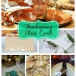 10 Lovely Thanksgiving Place Cards