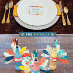 Fun and colorful Thanksgiving Turkey Free printables