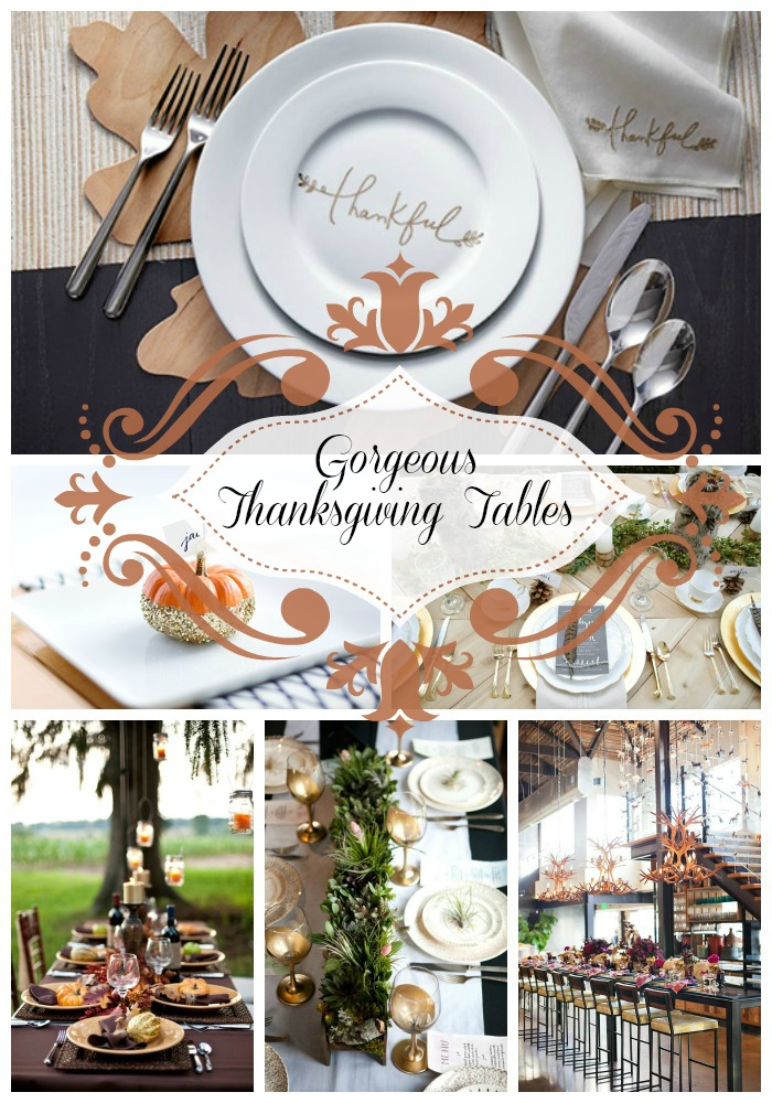 B lovely events for Gorgeous thanksgiving table settings