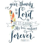 Love this Thanksgiving free Printable scripture sign