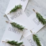 The Loveliest Thanksgiving Place Cards!