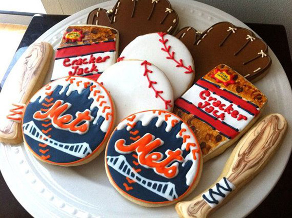 Mets world series cookies!