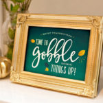 Lovely Thanksgiving Free Printables!