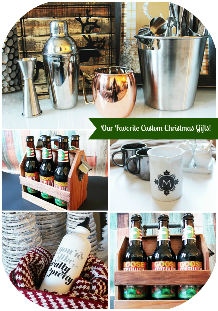 Our Favorite Custom Christmas Gifts This Year! -B. Lovely Events