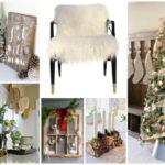 Rustic Christmas Home Decoration Inspiration! -B