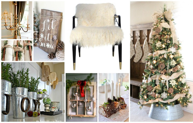 Rustic Christmas Home Decoration Inspiration! -B