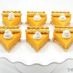 Small Pumpkin Pie Cheese And Crackers- No way!