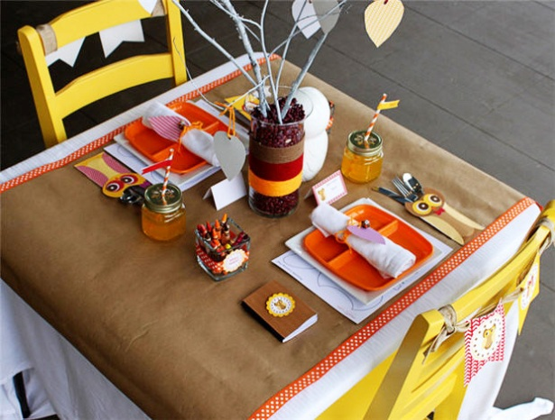Kids Thanksgiving Table Ideas B Lovely Events