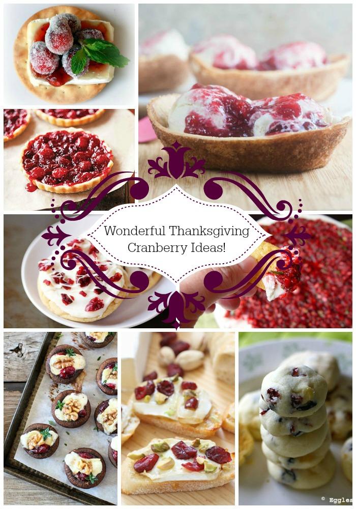 Wonderful Thanksgiving Cranberry Ideas- B. Lovely Events