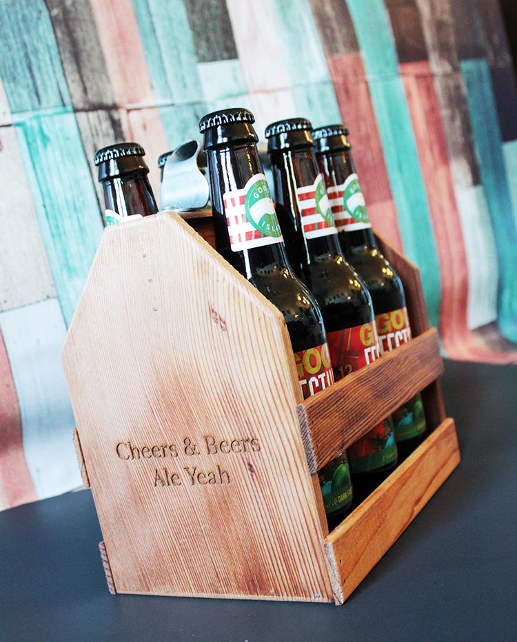 Zazzle Custom Beer Holder- Love this!