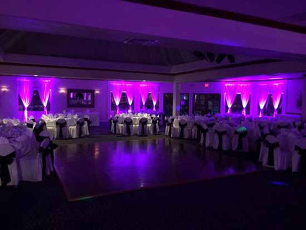 Amazing Room Uplighting from DIYuplighting - Lovely Vendors- B. Lovely Events
