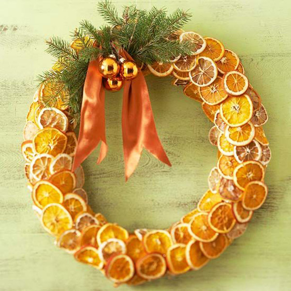 Creative died orange christmas wretah