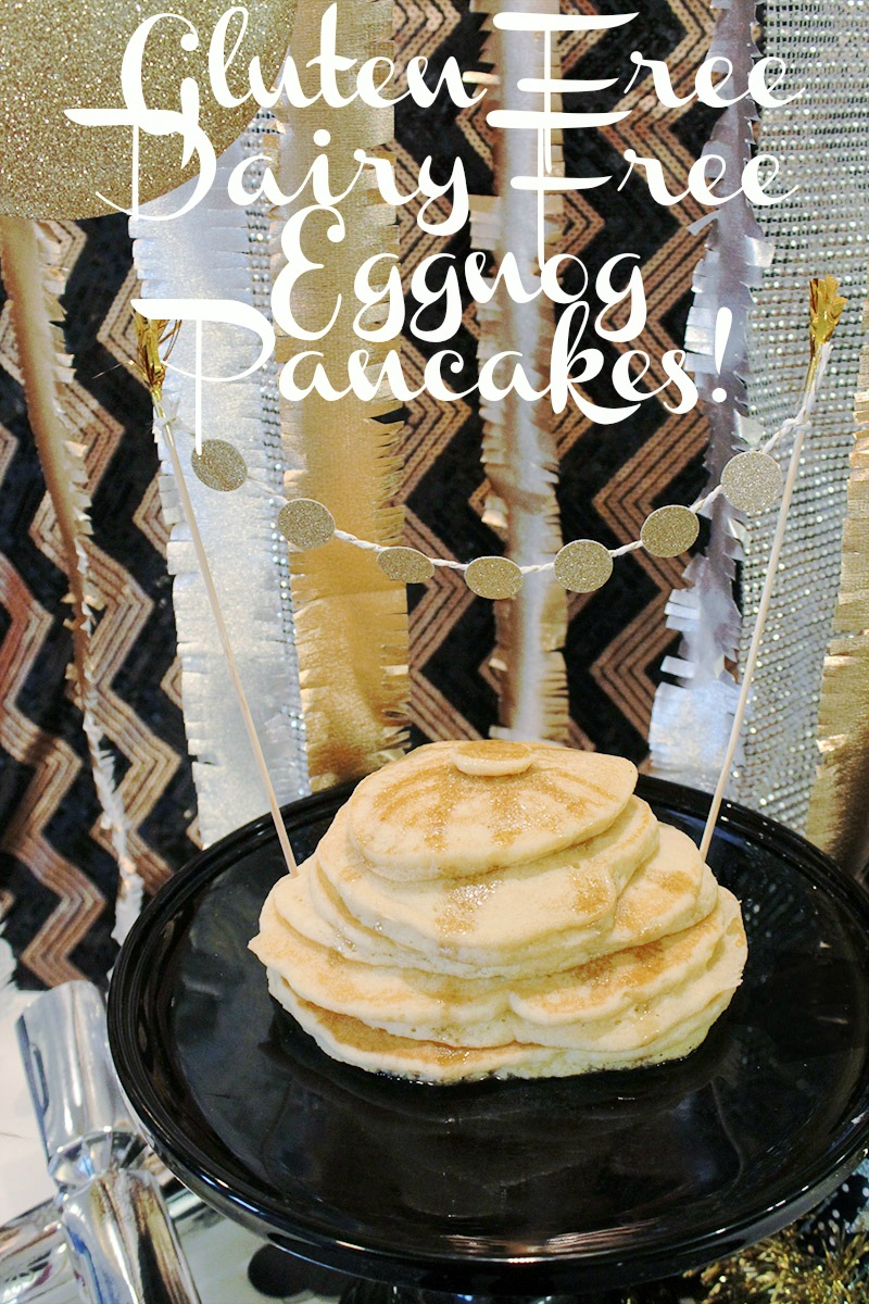 Gluten Free Dairy Free Eggnog pancakes - B. Lovely Events
