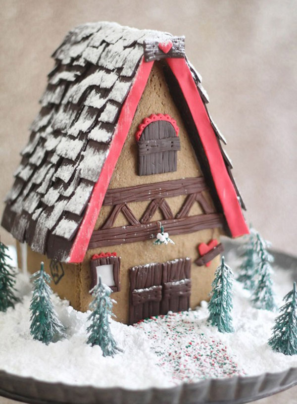 Love this Lovely Gingerbread house!