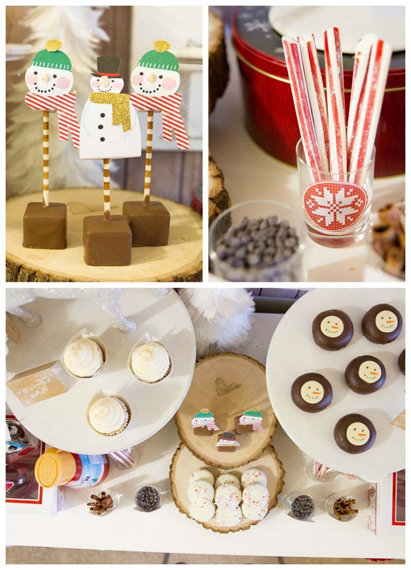 Rustic & Cozy Hot Cocoa Bar Ideas- B. Lovely Events
