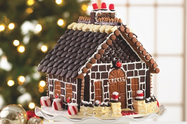 This gingerbread house is amazing!